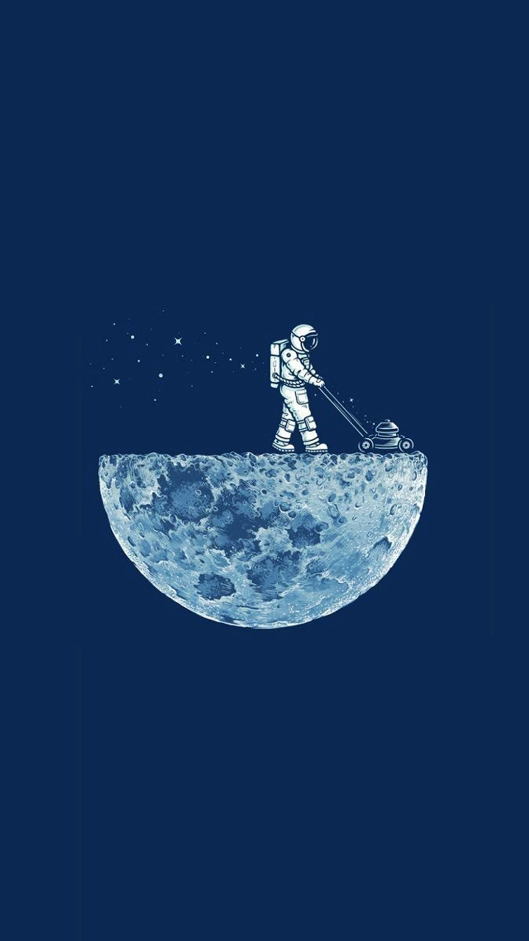 Astronaut Moon Smartphone Wallpapers HD