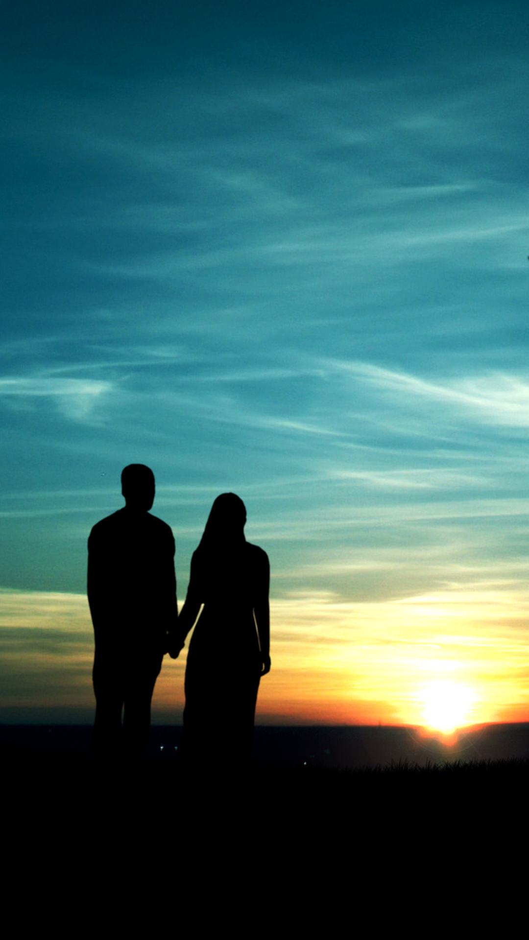 Love couple Hd Wallpaper For Smartphone : Sunset Lovers Smartphone HD Wallpapers ? GetPhotos
