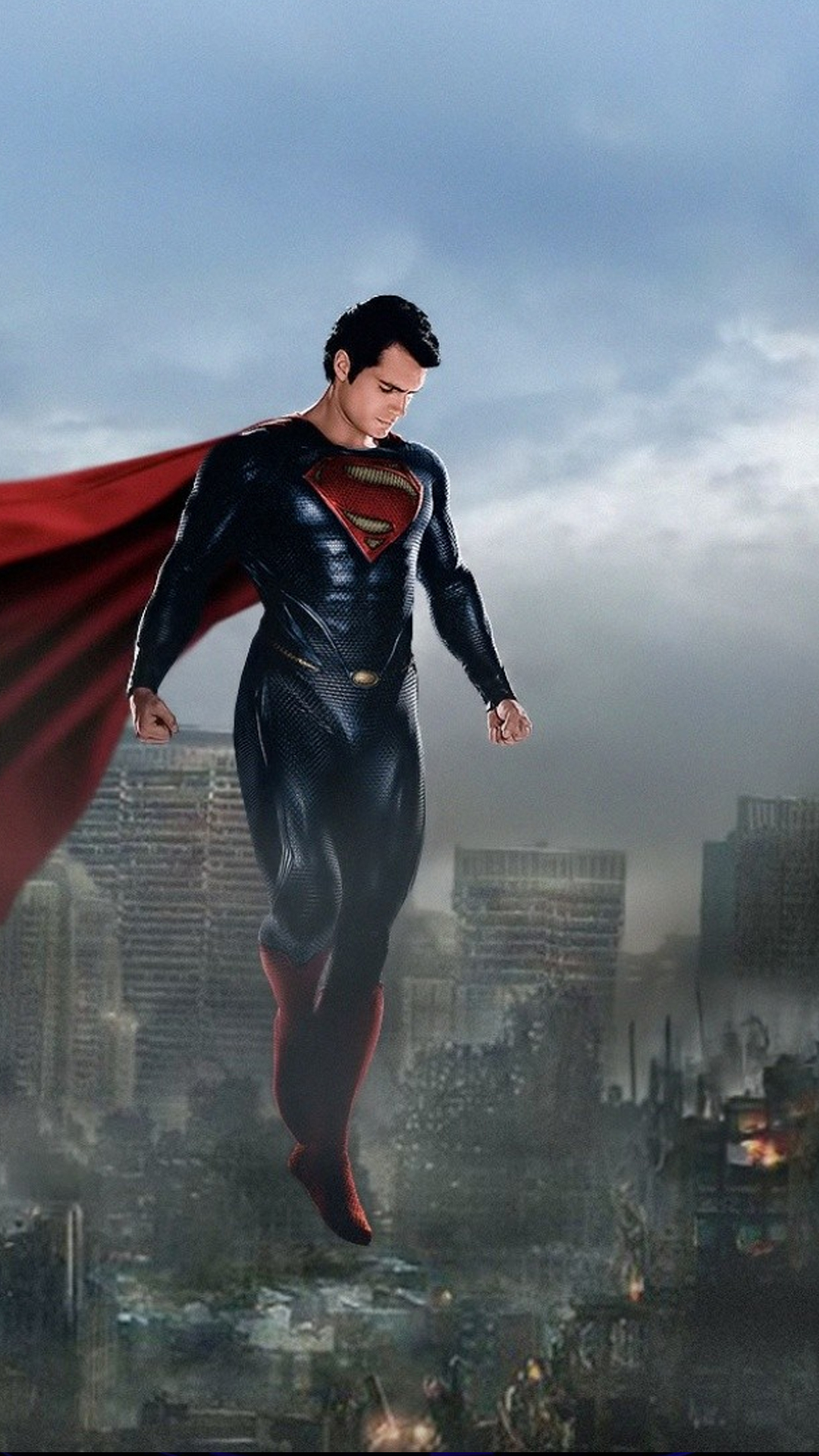 Superman over the City
