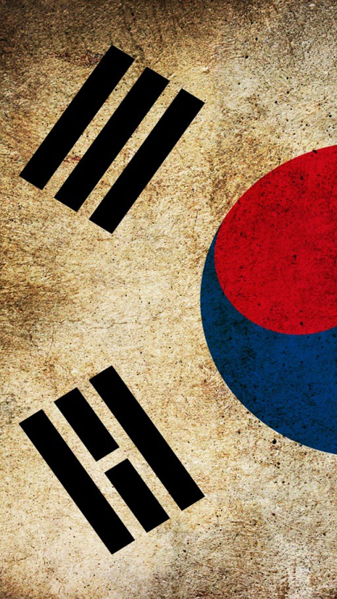 Flag South Korea wallpaper