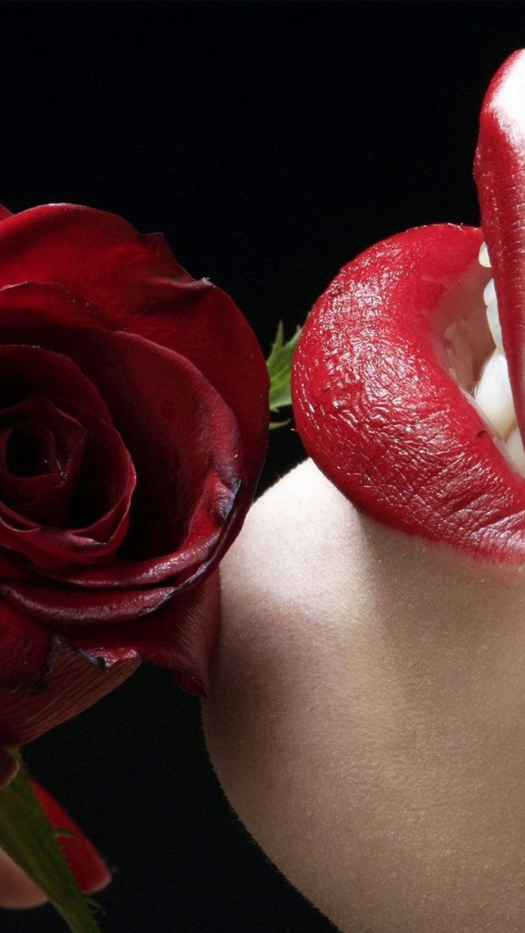 Red Lips Rose