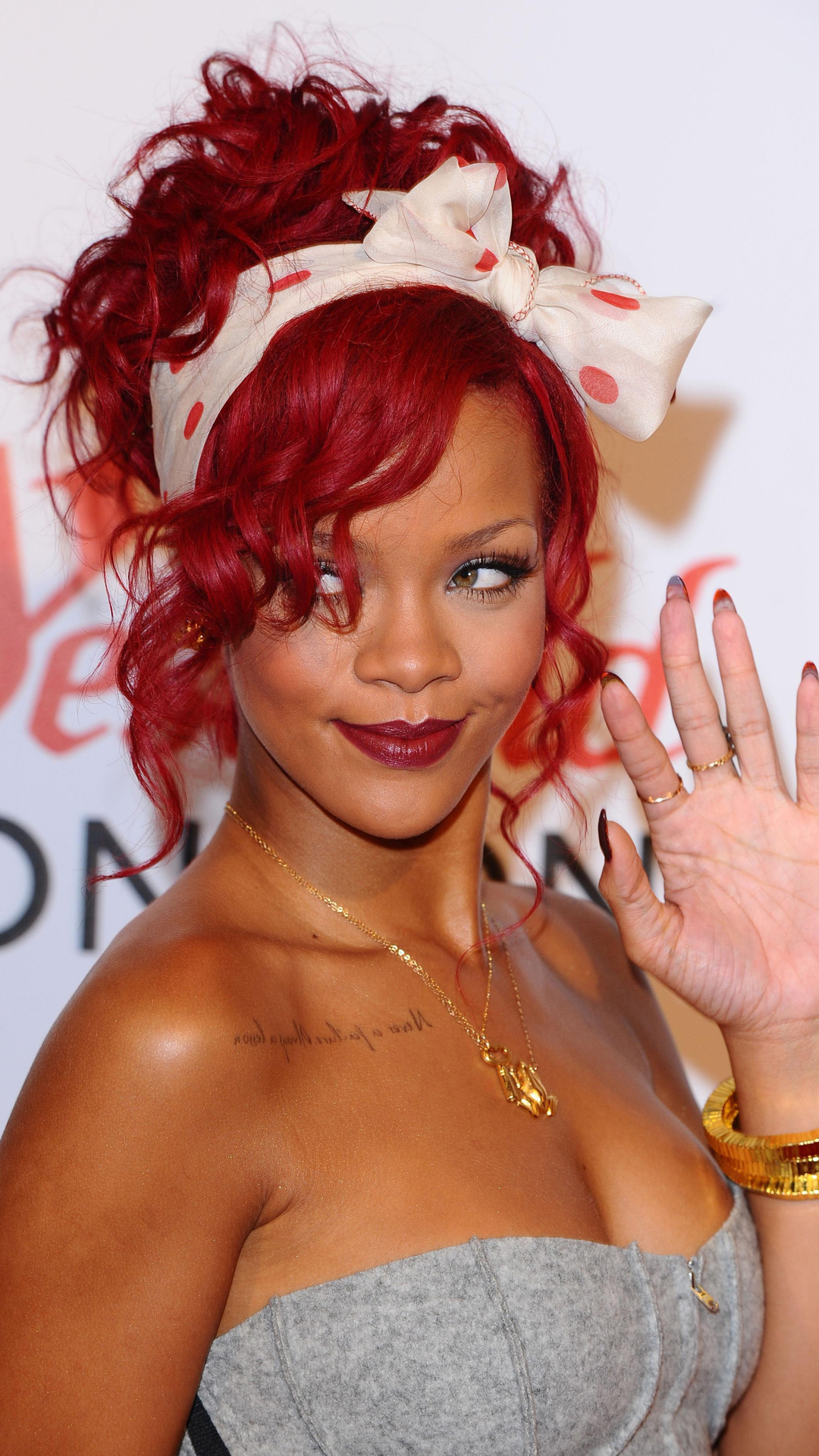 Rihanna Red Hair