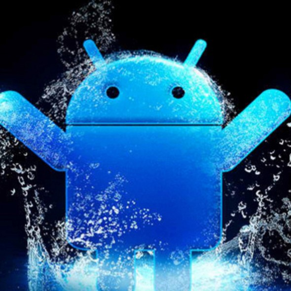 Android Happy Splash Smartphone Wallpapers HD