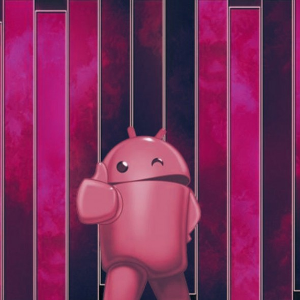 Android Thumbs Up Pink Smartphone Wallpapers HD