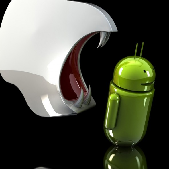Android Vampire Apple Bite Smartphone Wallpapers HD