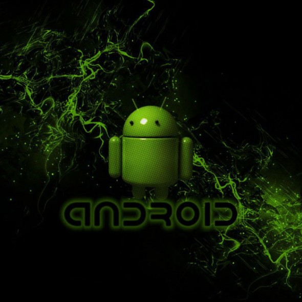 Android Green Smoke Smartphone Wallpapers HD