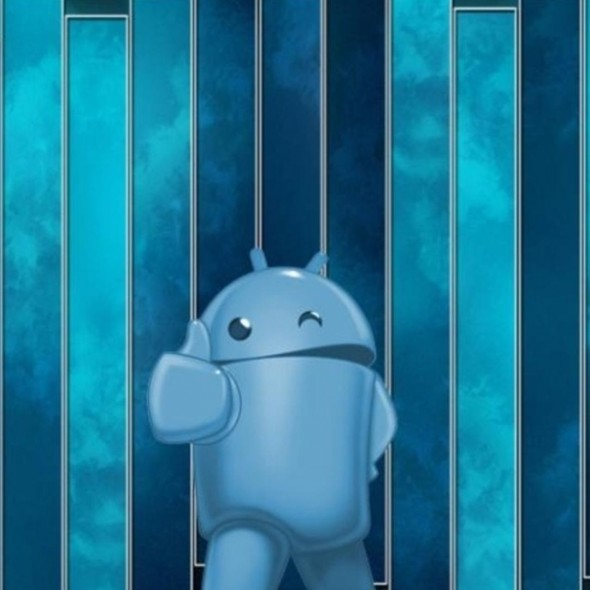 Android Thumbs Up Blue Smartphone Wallpapers HD