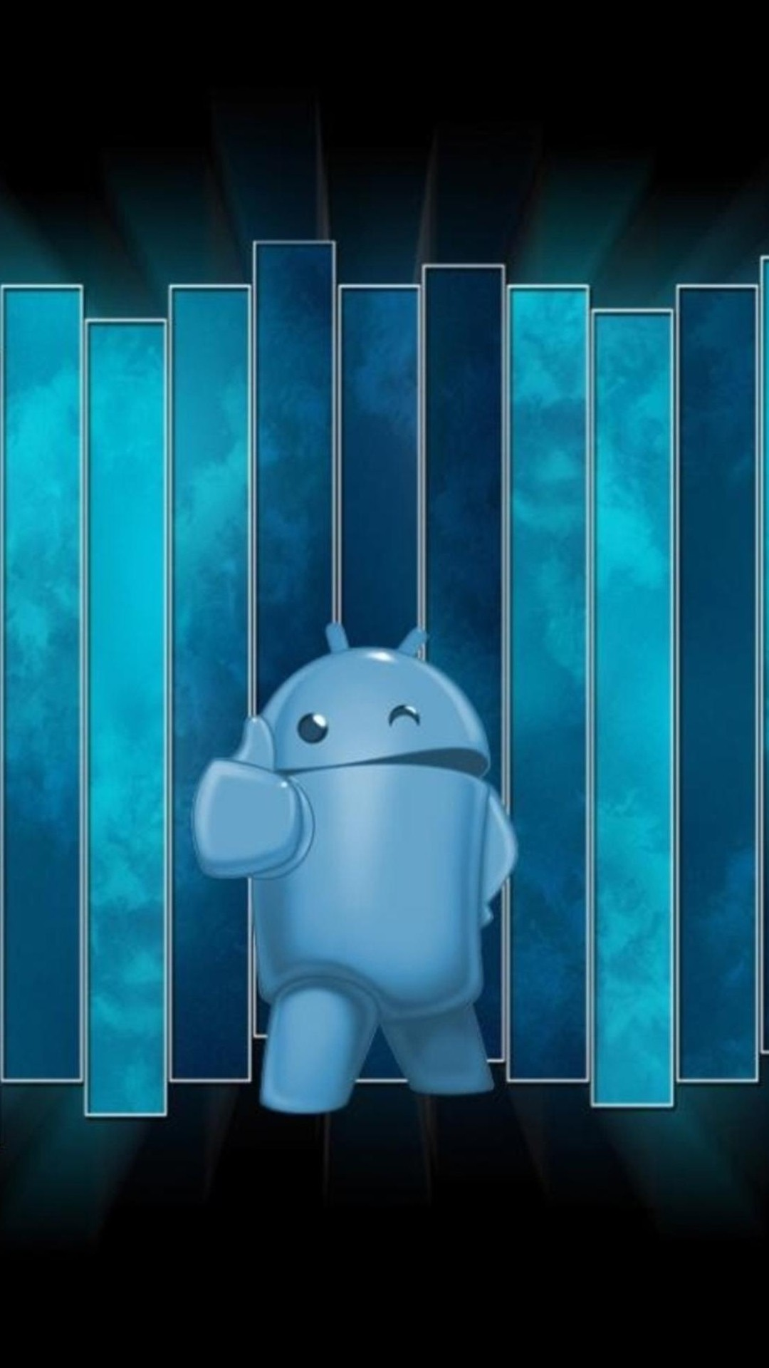 Android Thumbs Up Blue Smartphone Wallpapers Hd Getphotos